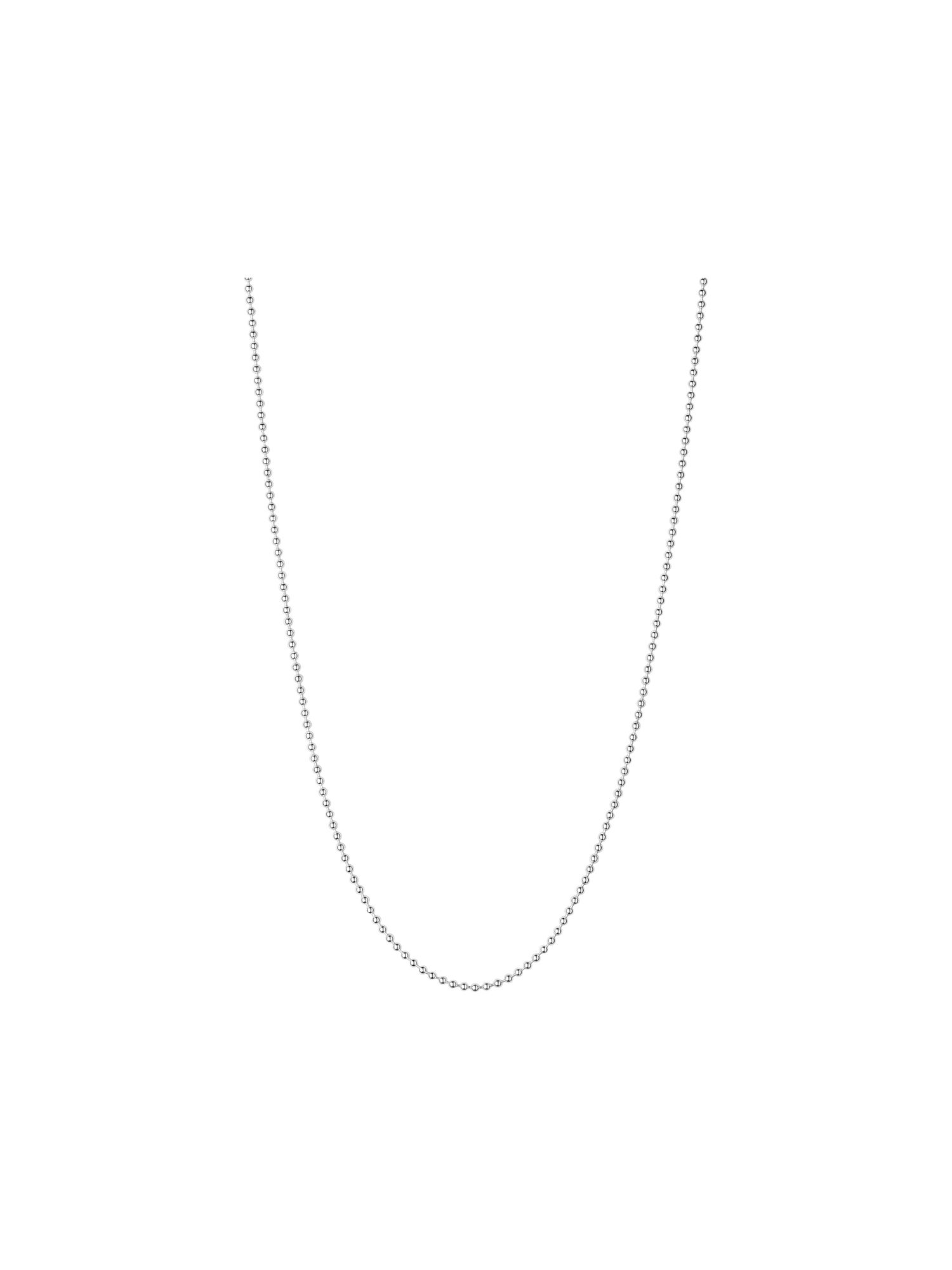 Silver ball chain 2.5mm 50cm