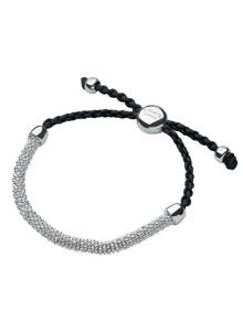 Links of London Effervescence XS Cord Bracelet Grey