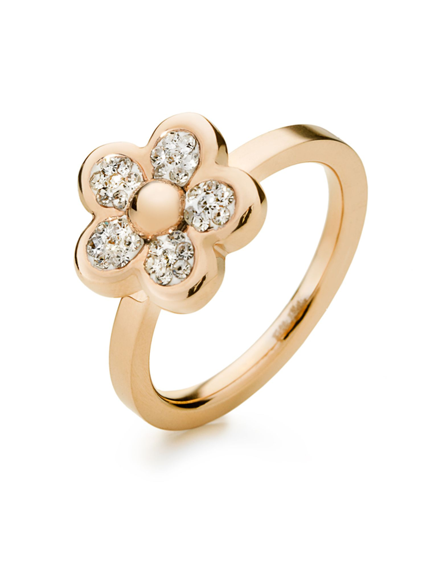 Follie di fiori ring