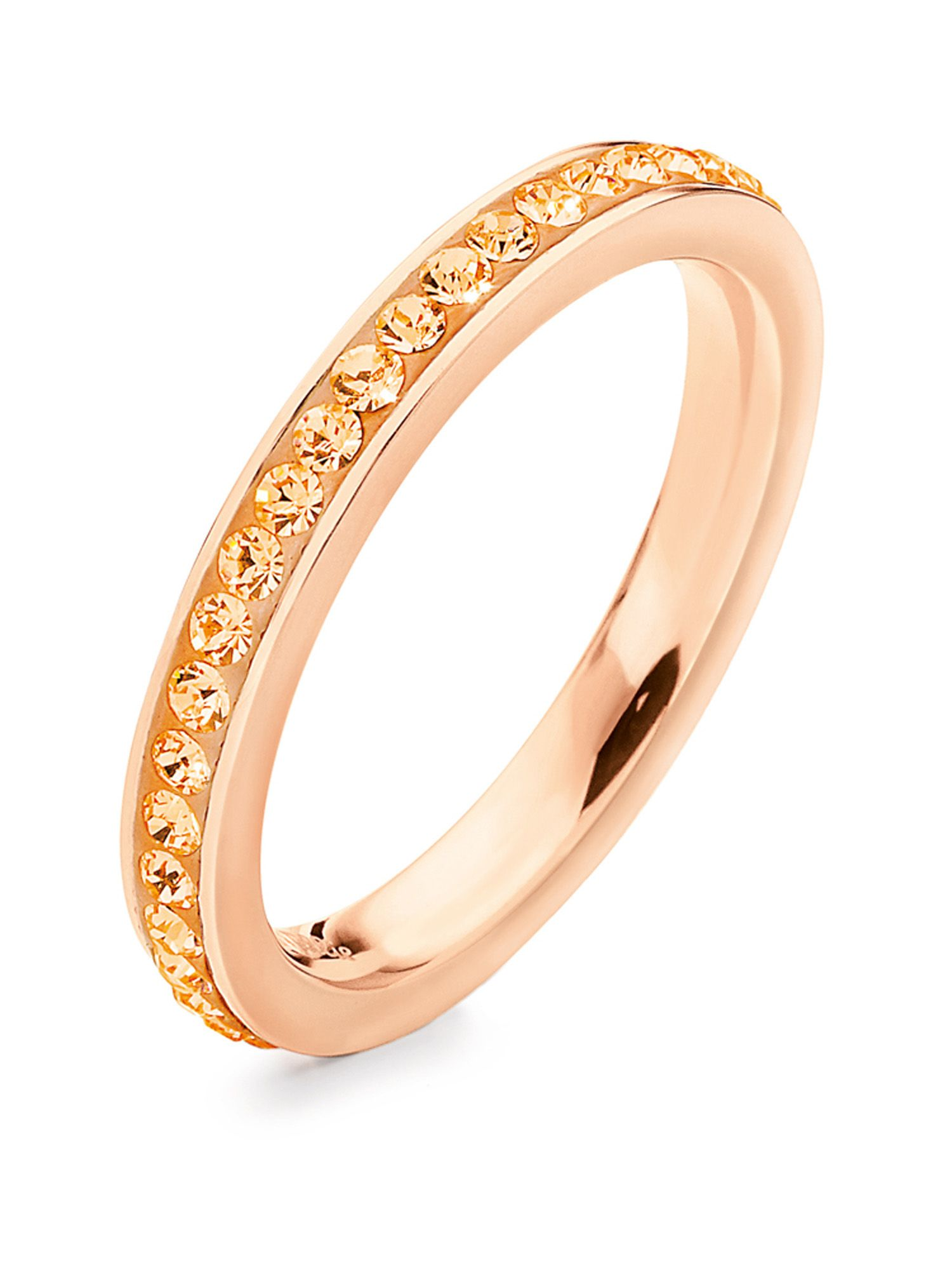folli follie match and dazzle 2 thin ring