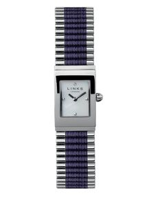 Links of London Friendship Purple Rectangular Watch