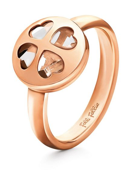 Folli Follie Heart 4 heart win ring 54