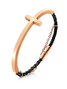 Folli Follie Karma rose gold g pu bracelet