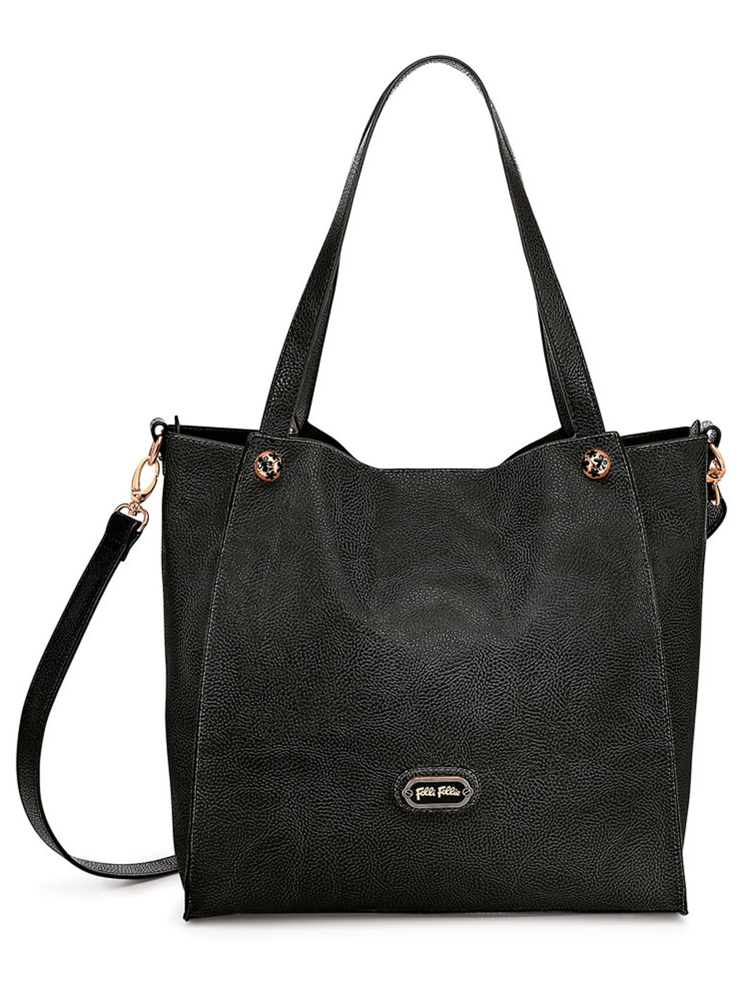 Flowerball shoulder bag black