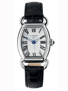 Links of London Driver ellipse black watch