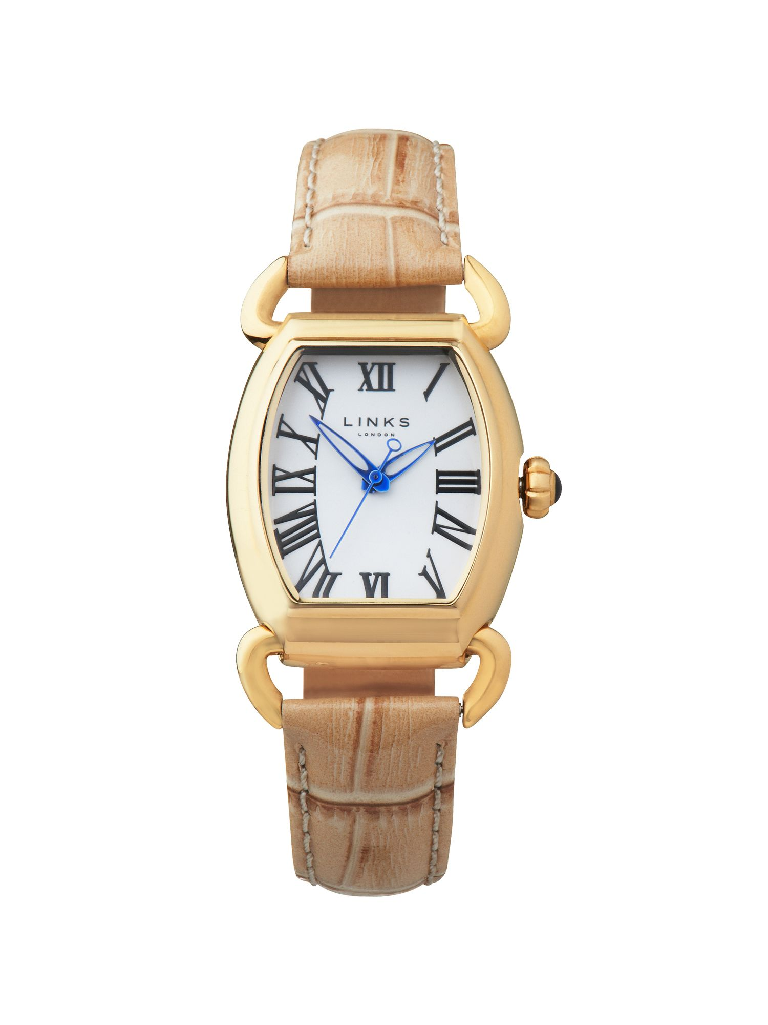 Driver ellipse tan watch