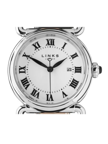 Links of London Driver round black watch