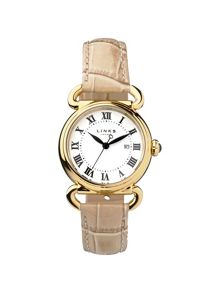 Links of London Driver round womenstan leather watch