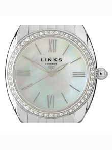 Links of London Bloomsbury stainless steel & crystal watch