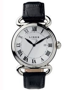Links of London Driver large white watch