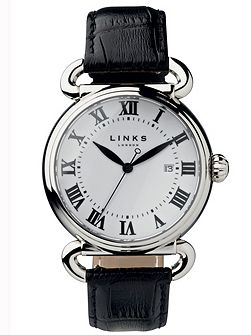 Driver large white watch
