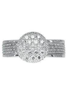 Links of London Celeste Pave Ring