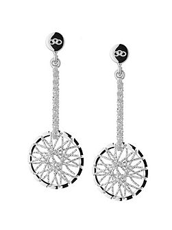 Dream catcher stiletto earrings