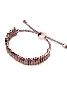 Links of London Taupe & Copper Friendship Bracelet