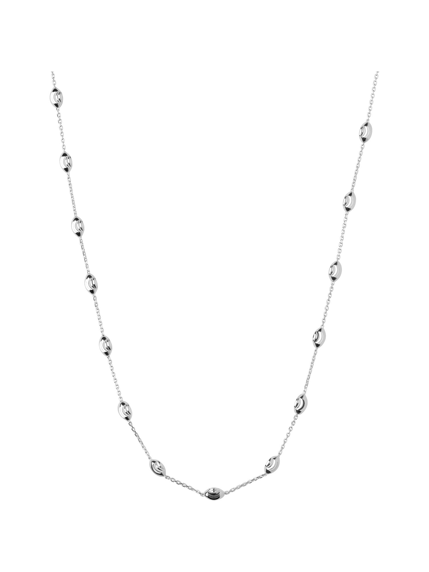 Beaded chain necklace 45cm