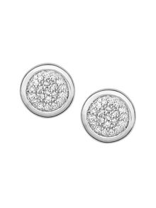 Essentials Diamond Pave Studs