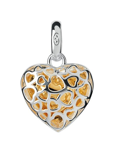 Links of London Cage Heart Charm