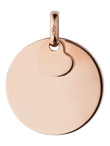 Links of London Rose Gold Vermeil Disc Pendant Charm