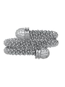 Links of London Star Dust Silver Wrap Ring
