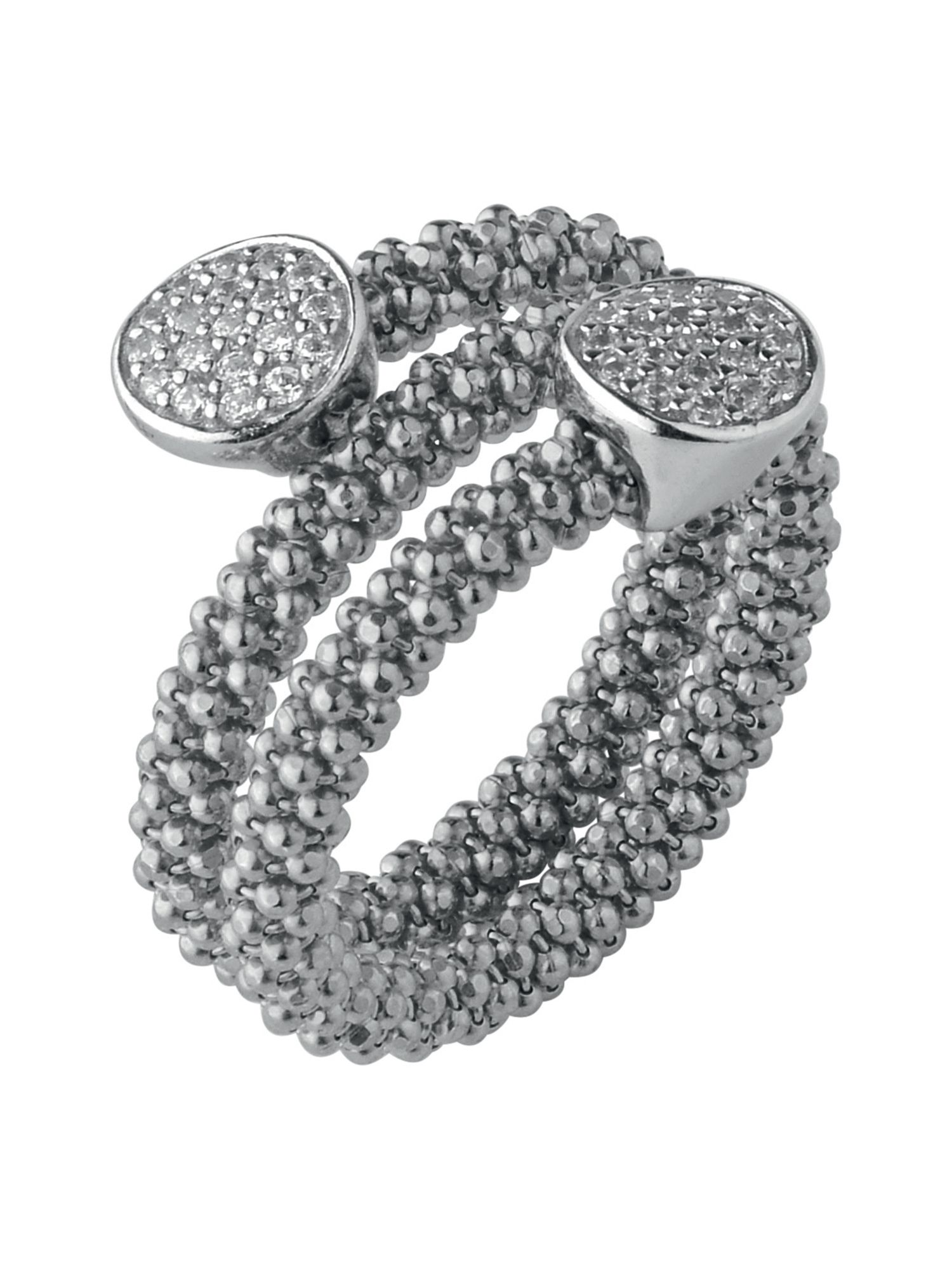 Links of London Star Dust Silver Round Wrap Ring