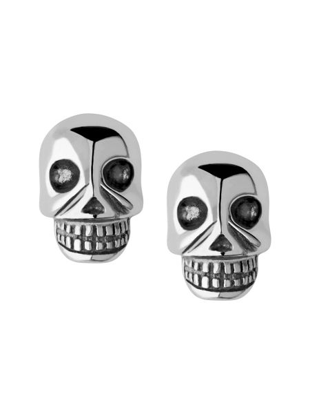 Links of London Mini skull stud earrings