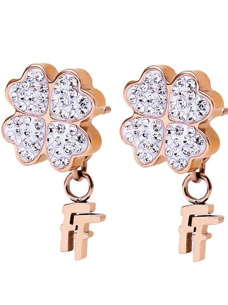Folli Follie Heart4Heart Earrings