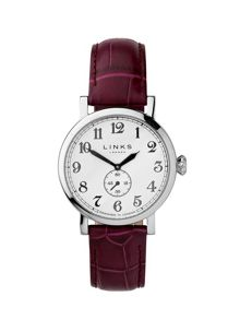 Greenwich Dial Purple Strap Watch