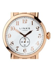 Links of London Greenwich Dial Gold Plated Watch