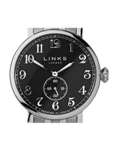 Links of London Greenwich Black Dial Bracelet Watch