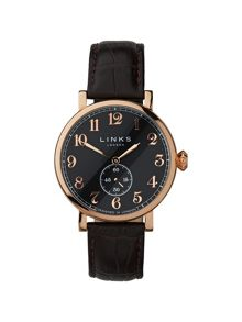 Greenwich Brown Strap Watch