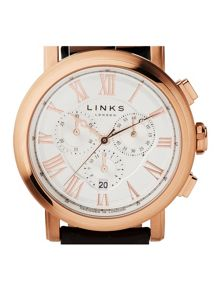 Links of London Richmond Chronograph Watch White Dial