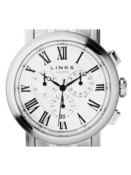 Links of London Richmond White Dial Chronograph Watch