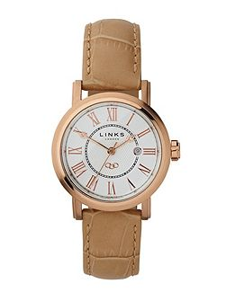 Links of London Richmond Rose Gold Watch with