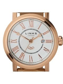Richmond Rose Gold Watch with White Dial