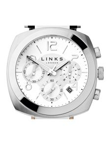 Links of London Brompton Black Strap Chronograph