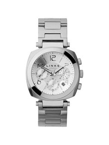 Brompton Silver Dial Chronograph Watch