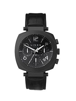 Brompton Black Dial Chronograph Watch