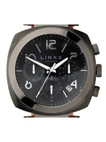 Links of London Brompton Gun Dial Chronograph Watch
