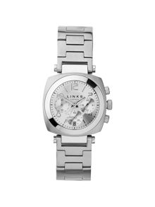 Links of London Brompton Silver Dial Chronograph Watch