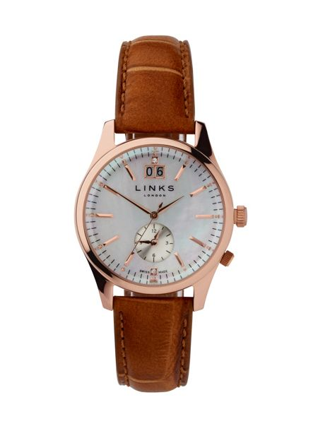 Links of London Regent Rose Gold Plated Watch
