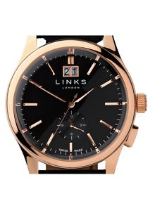 Links of London Regent Black Dial Watch