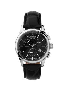 Links of London Regent Black Dial Chronograph Watch