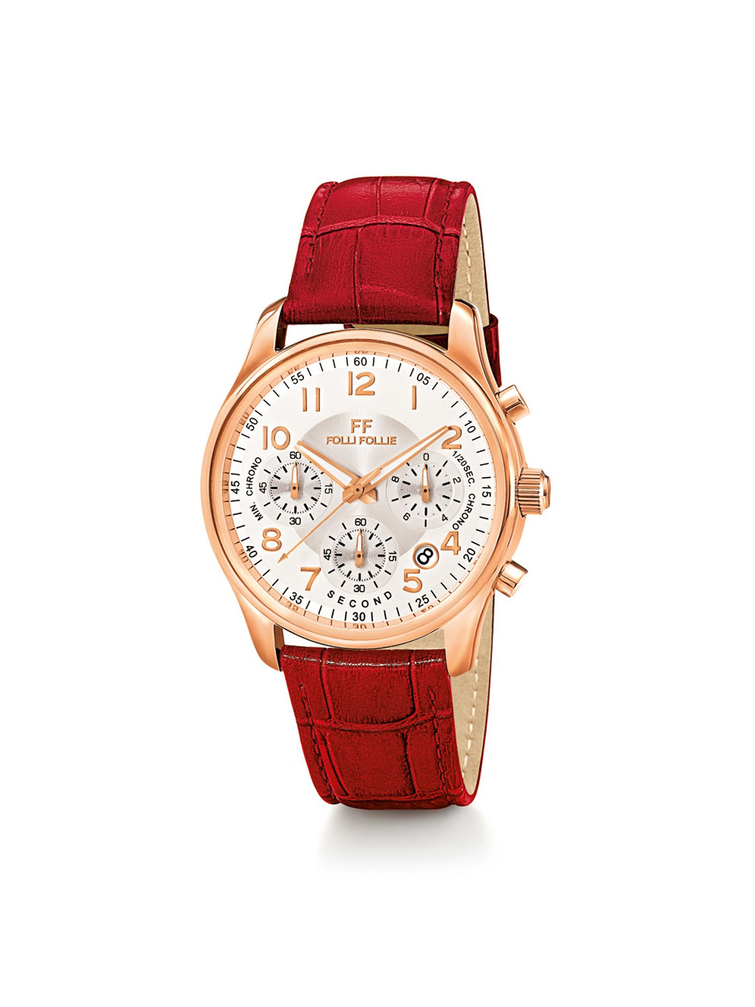 Folli Follie Timeless Watch, Red