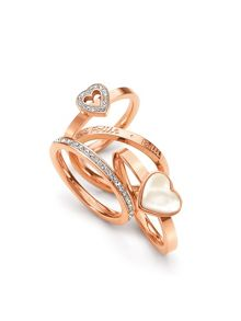 Folli Follie Playful Hearts Ring