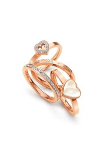 Playful Hearts Ring