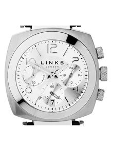 Links of London Brompton Silver Dial Chronograph
