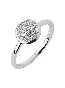 Diamond Essentials Pave Ring - Ring Size L