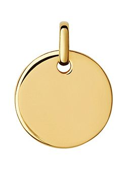Narrative 18ct Gold Vermeil Pendant