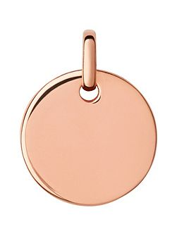 Narrative 18ct Rose Gold Vermeil Pendant