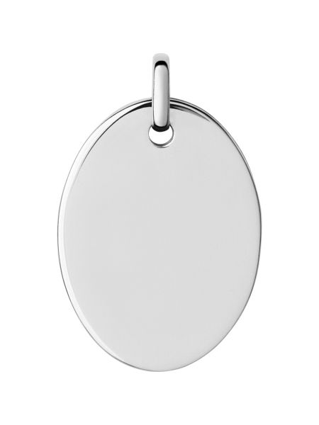 Links of London Narrative Large Oval Disc Pendant